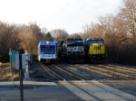 NJT 3503, NS 9170, CSX 8766